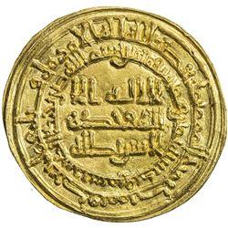 SAMANID: Isma'il I, 892-907, AV dinar (4.04g), Samarqand, AH288. EF-AU