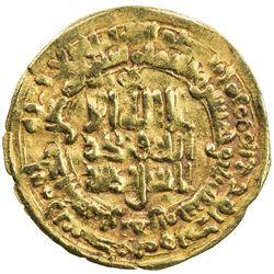 SAMANID: Mansur I, 961-976, AV dinar (2.84g), Herat, AH353. VF