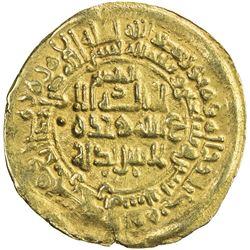 SAMANID: Nuh III, 976-997, AV dinar (3.51g), Herat, AH372. VF