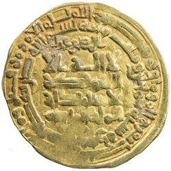 SAMANID: Nuh III, 976-997, AV dinar (3.65g), Herat, AH380. VF