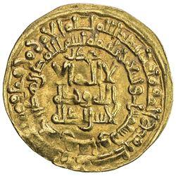 QARAKHANID: Nasr b. 'Ali, 993-1012, AV dinar (4.07g), Nishapur, AH396. VF