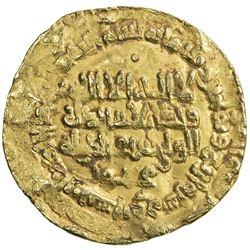 GHAZNAVID: Mahmud, 999-1030, AV dinar (2.93g), Herat, AH384. VF