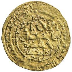 GHAZNAVID: Mahmud, 999-1030, AV dinar (1.42g), Nishapur, AH415. VF