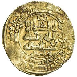 GHAZNAVID: Mahmud, 999-1030, AV dinar (3.75g), Ghazna, AH405. VF