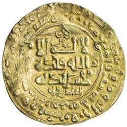 GHAZNAVID: Mahmud, 999-1030, AV dinar (4.16g), Ghazna, AH406. F-VF