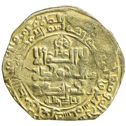 GHAZNAVID: Mahmud, 999-1030, AV dinar (4.17g), Ghazna, AH407. VF