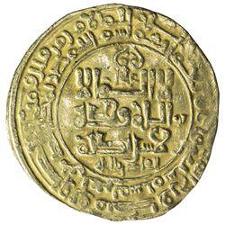 GHAZNAVID: Mahmud, 999-1030, AV dinar (3.44g), Ghazna, AH407. VF