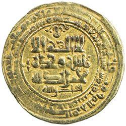 GHAZNAVID: Mahmud, 999-1030, AV dinar (3.90g), Ghazna, AH415. VF-EF