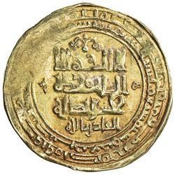 GHAZNAVID: Mahmud, 999-1030, AV dinar (4.21g), Ghazna, AH417. VF
