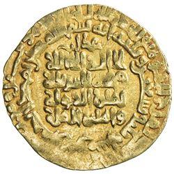GHAZNAVID: Mahmud, 999-1030, AV dinar (3.40g), Herat, AH393. VF