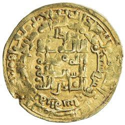 GHAZNAVID: Mahmud, 999-1030, AV dinar (4.15g), Herat, AH395. VF