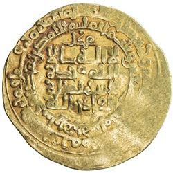 GHAZNAVID: Mahmud, 999-1030, AV dinar (3.60g), Herat, AH395. VF