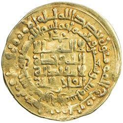 GHAZNAVID: Mahmud, 999-1030, AV dinar (4.43g), Herat, AH396. VF