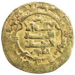 GHAZNAVID: Mahmud, 999-1030, AV dinar (4.16g), Herat, AH398. VF