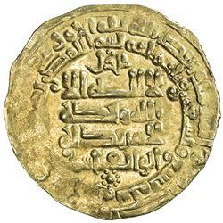 GHAZNAVID: Mahmud, 999-1030, AV dinar (2.40g), Herat, AH399. VF-EF