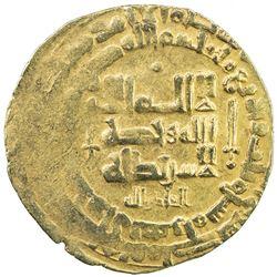 GHAZNAVID: Mahmud, 999-1030, AV dinar (4.15g), Herat, AH403. VF-EF