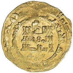 GHAZNAVID: Mahmud, 999-1030, AV dinar (3.48g), Herat, AH403. VF-EF