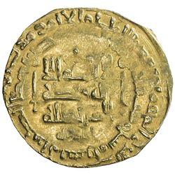 GHAZNAVID: Mahmud, 999-1030, AV dinar (3.16g), Herat, AH403. F-VF