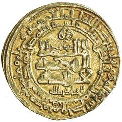GHAZNAVID: Mahmud, 999-1030, AV dinar (4.02g), Herat, AH404. VF