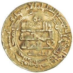 GHAZNAVID: Mahmud, 999-1030, AV dinar (3.20g), Herat, AH404. F-VF
