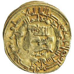 GHAZNAVID: Mahmud, 999-1030, AV dinar (4.19g), Herat, AH407. F-VF