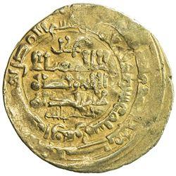 GHAZNAVID: Mahmud, 999-1030, AV dinar (3.65g), Herat, AH410. F-VF