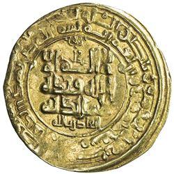 GHAZNAVID: Mahmud, 999-1030, AV dinar (2.89g), Herat, AH413. VF