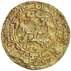 GHAZNAVID: Mahmud, 999-1030, AV dinar (3.95g), Herat, AH414. F-VF