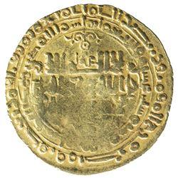 GHAZNAVID: Mahmud, 999-1030, AV dinar (3.76g), Herat, AH416. F-VF