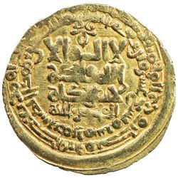 GHAZNAVID: Mahmud, 999-1030, AV dinar (3.10g), Herat, AH419. VF-EF