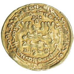 GHAZNAVID: Mahmud, 999-1030, AV dinar (3.34g), Herat, AH419. VF-EF