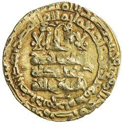 GHAZNAVID: Mahmud, 999-1030, AV dinar (3.40g), Herat, AH420. VF