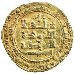 GHAZNAVID: Mas'ud I, 1030-1041, AV dinar (2.66g), Ghazna, AH423. VF-EF