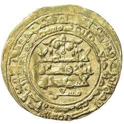 GHAZNAVID: Mas'ud I, 1030-1041, AV dinar (2.79g), Ghazna, AH425. VF-EF