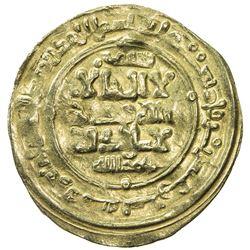 GHAZNAVID: Mas'ud I, 1030-1041, AV dinar (3.36g), Ghazna, AH429. VF