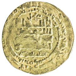 GHAZNAVID: Mas'ud I, 1030-1041, AV dinar (3.03g), Herat, AH425. VF-EF