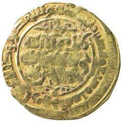 GHAZNAVID: Mas'ud I, 1030-1041, AV dinar (3.94g), Herat, AH427. F