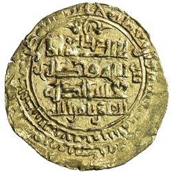 GHAZNAVID: Mawdud, 1041-1048, AV dinar (2.69g), Ghazna, AH433. EF