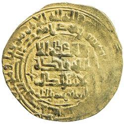 GHAZNAVID: Mawdud, 1041-1048, AV dinar (3.29g), Ghazna, AH43x. VF