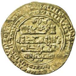 GHAZNAVID: Mawdud, 1041-1048, AV dinar (2.66g), Ghazna, AH43x. VF