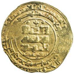 GHAZNAVID: 'Abd al-Rashid, 1049-1052, AV dinar (4.49g), Ghazna, AH439. VF