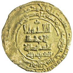 GHAZNAVID: Farrukhzad, 1053-1059, AV dinar (2.88g), Ghazna, AH444. EF