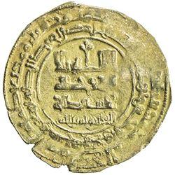 GHAZNAVID: Farrukhzad, 1053-1059, AV dinar (3.52g), Ghazna, AH444. VF-EF