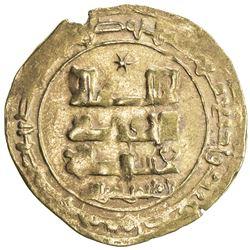 GHAZNAVID: Farrukhzad, 1053-1059, AV dinar (3.87g), Ghazna, AH445. VF