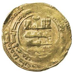 GHAZNAVID: Farrukhzad, 1053-1059, AV dinar (4.03g), Ghazna, AH4xx. VF