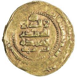 GHAZNAVID: Ibrahim, 1059-1099, AV dinar (4.61g), Ghazna, AH456. VF-EF