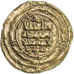 GHAZNAVID: Ibrahim, 1059-1099, AV dinar (3.28g), Ghazna, AH457. F-VF