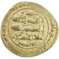 GHAZNAVID: Ibrahim, 1059-1099, AV dinar (6.10g), Ghazna, AH491. EF