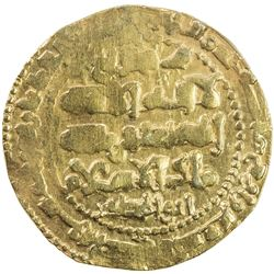 GHAZNAVID: Ibrahim, 1059-1099, AV dinar (6.30g), Ghazna, AH491. VF