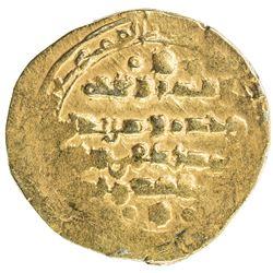 GHAZNAVID: Mas'ud III, 1099-1115, AV dinar (4.36g) (Ghazna), AH507. VF-EF